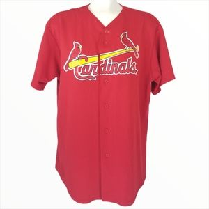 St. Louis Cardinals Red Jersey 24 Majestic